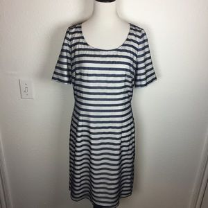 Antonio Melani Lace Overlay Dress